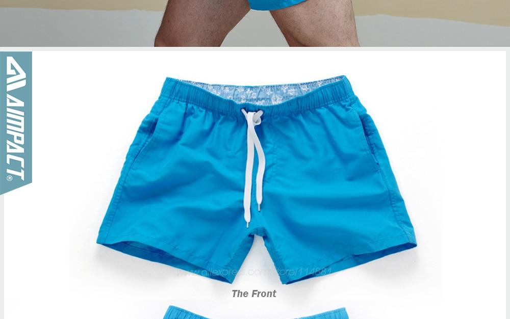 Aimpact Quick Drying Men's Board Shorts Popular Men's Jogger Short Fashion Sexy Men's Board Short PF55 Men Shorts Drop Shopping 23