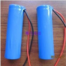 2 PCS 3.6 V / 3.6 V / 4.2 V Rechargeable liitokala  Battery 2200 mah Lithium ion battery Pack 18650 Batteries + Free shipping