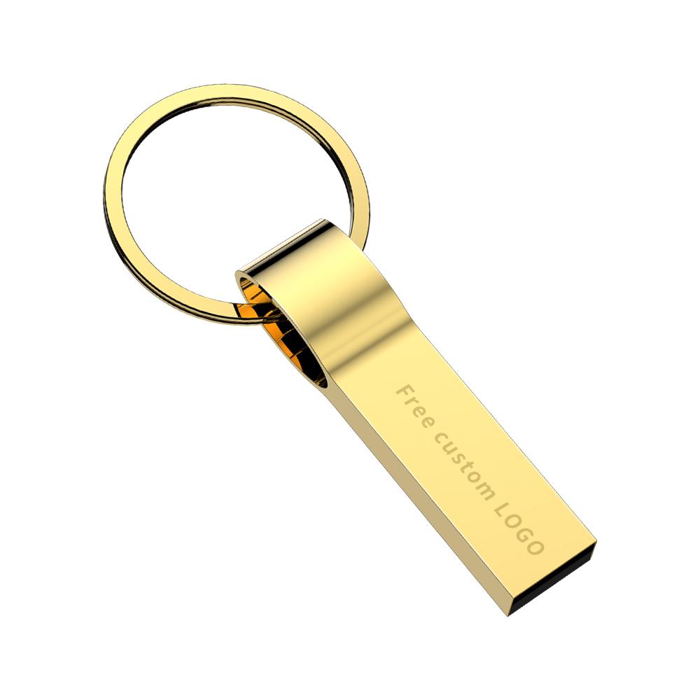 New 2019 usb flash drive 32gb metal USB3.0 usb stick 4gb 8GB 16GB pendrive 64gb grey Keychain pen drive 128GB Free print LOGO (8)