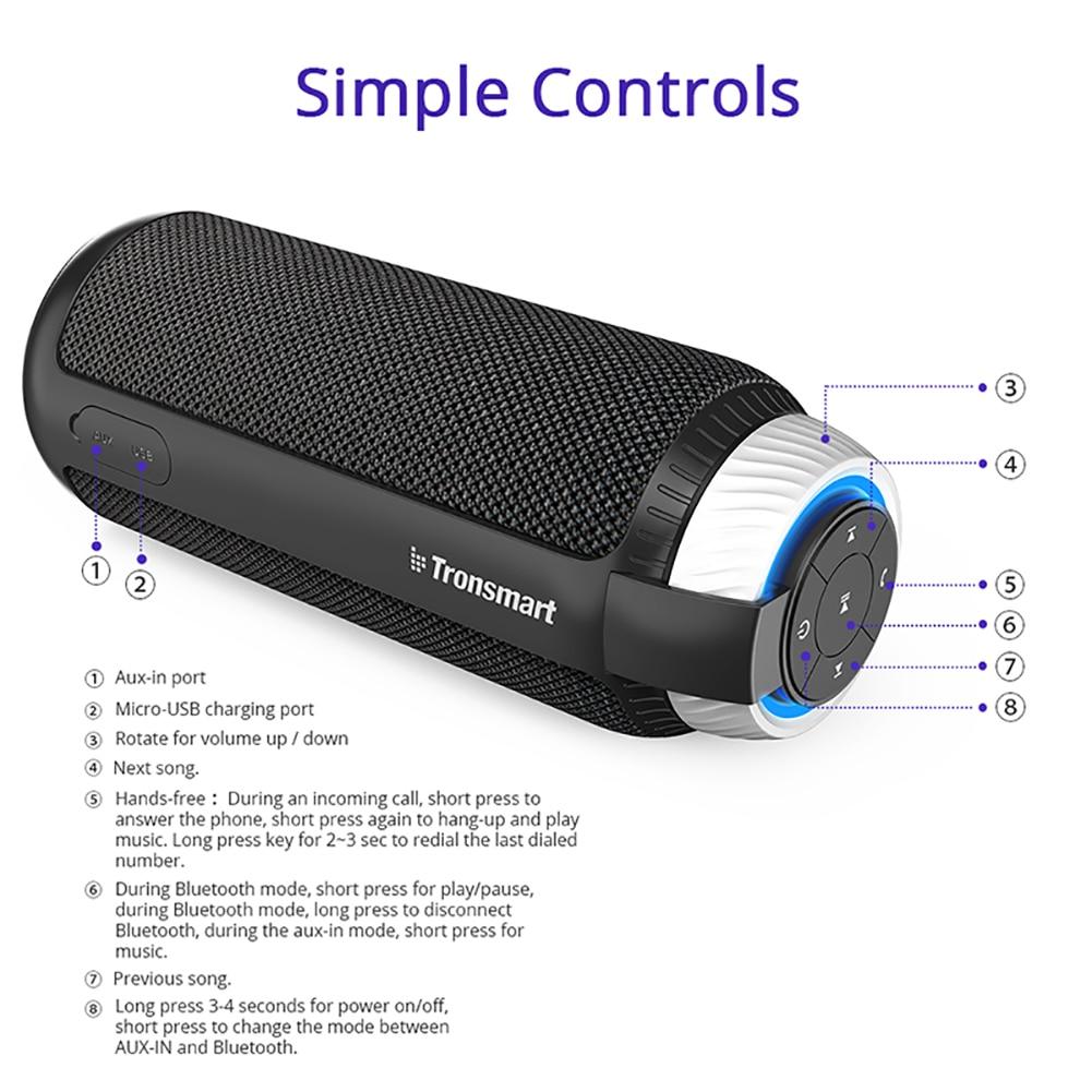 Bluetooth 4.1 Portable Speaker (Red) 15