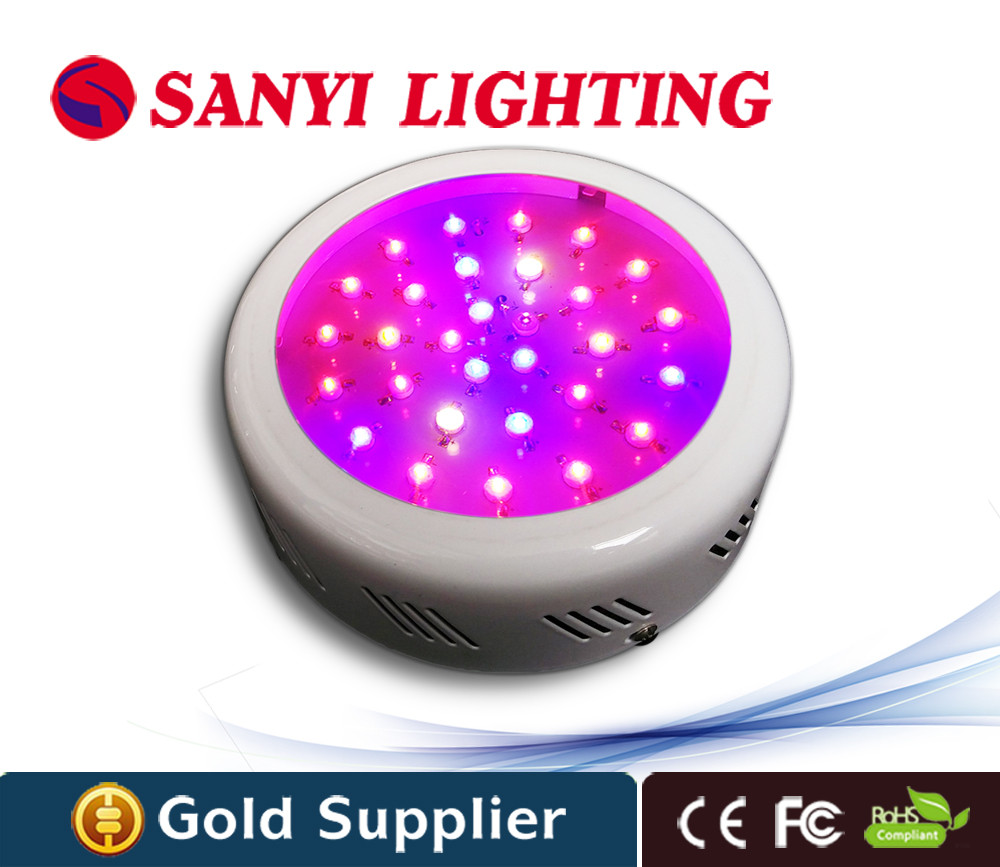 Best Hydroponic UFO Led grow light 90W with red blue Plant Growing Light lamp for indoor garden Veg and Blooming<br><br>Aliexpress