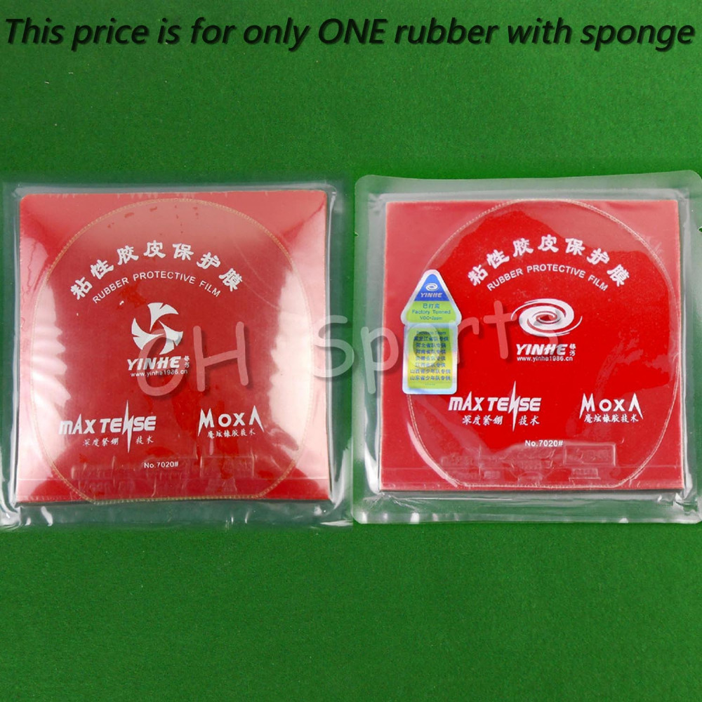 Galaxy / Milky Way / Yinhe Moon (Factory Tuned) Pro Pips-in Table Tennis (PingPong) Rubber With Sponge<br>