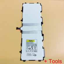Replace Battery For Samsung Galaxy Note 10.1 Battery Tab 2  P5100 P5110 Tablet Battery P7500 P7510 N8000 N8010 SP3676B1A +Tool