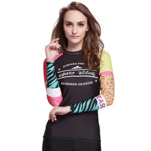 Sbart 2016 upf50 uv swim shirt sports tops lycra rash guard competition swim suits uv protection shirts for swimming