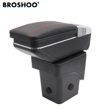 BROSHOO Car Armrest Box Central Store Content Box Products For Ford Focus 2 Interior Armrest Storage Center Console Accessories