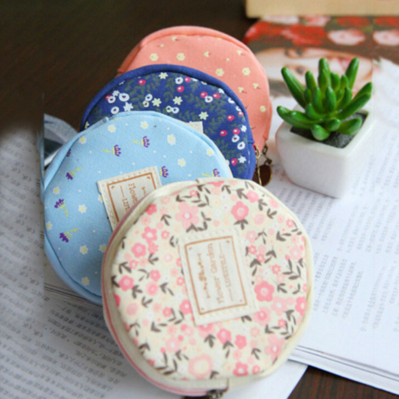New Fashion Coin Purse Lovely Partysu Women Girls Small Wallet Soft Fabric Coin Bag Kid Gift<br><br>Aliexpress