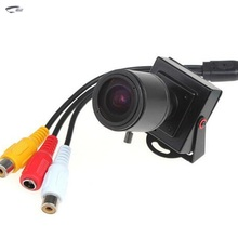 Hd Mini 700tvl Security Cctv Camera Cmos Sensor Manual Zoom Lens 2.8mm-12mm With Audio Wired Car Indoor Home Surveillance Camera(China)