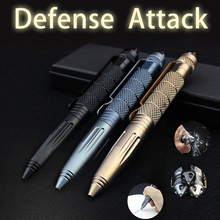 Outdoor Multifunction Portable Tactical Pen Anti-skid High Quality Self Defense Pen Tool Aviation Aluminum Travel Kits