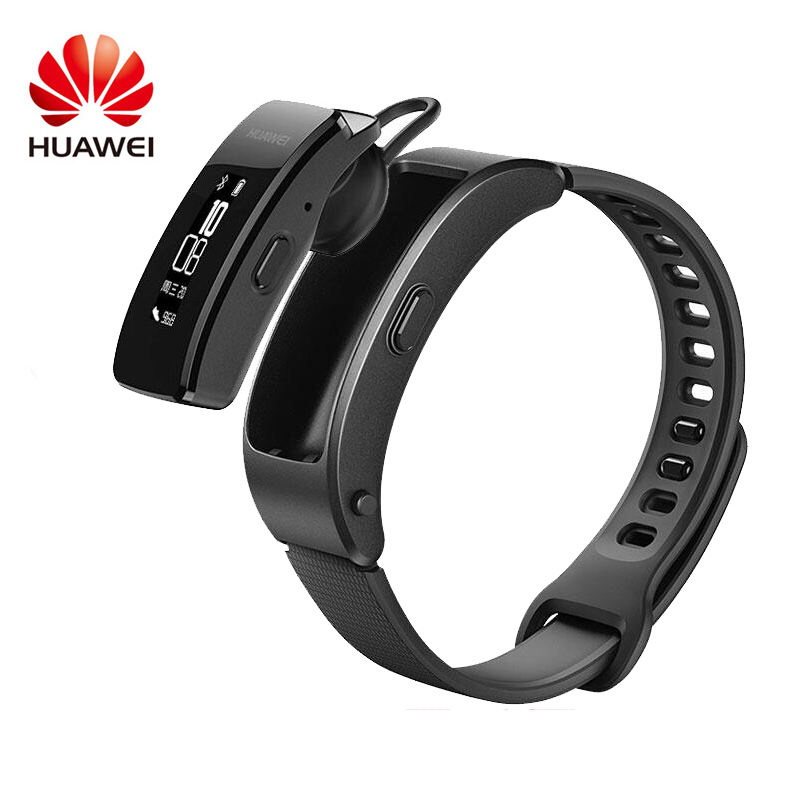 Huawei Bluetooth-Headset Auto-Track-Alarm Smart-Wristband Call-Run Answer/End Original title=
