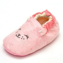 2016 New Fashion Winter Baby Boys Girls Warm Plush Booties Infant Indoor Soft Slipper Crib Shoes boots