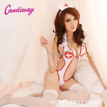 Hot Sexy Costume Women Cosplay Uniform Three Point Underwear Sexy Lingerie Exotic Nun Halloween Costumes Dress Outfit Clothing
