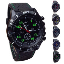 Buy Men Watch Quartz Watch Military Watches Sport Wristwatch Silicone Fashion Hours High Qulity Hot Sale Dropshipping M1 for $2.97 in AliExpress store