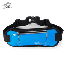 Tanluhu Unisex Sport bag Water Resistant Scratch-resistant Running Waist Pack Belt Bag elastic fabric Newest Design 3 Colors(China)