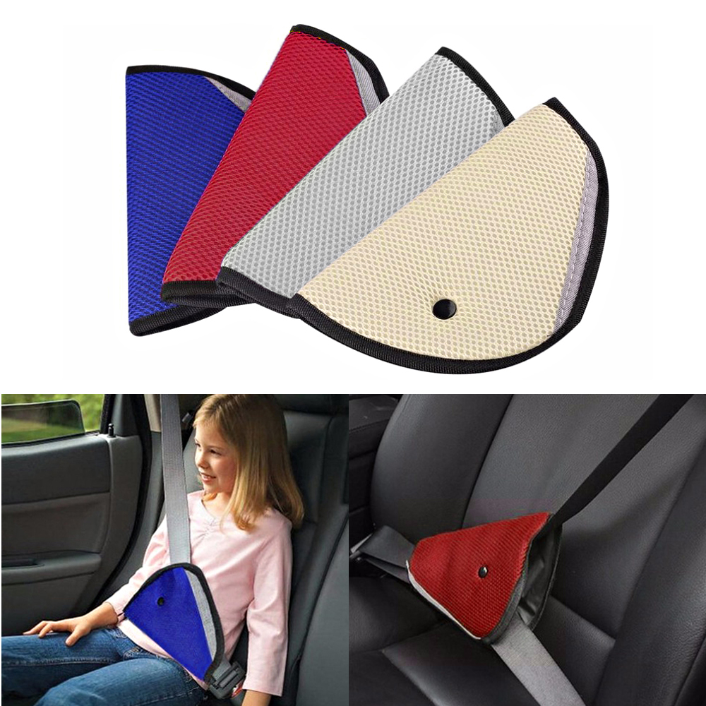 Comfortable Car Seat Belt Adjuster Safety Adjustment for Kids Children Baby
