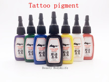 Free Shipping 5 Bottles/Set 0.5 OZ/Bottle Many Colors To Choose From Tattoo Ink Outlining Ink
