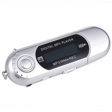 USB Flash MP3 Player U Disk Player With FM Radio reproductor mp3 Music Palyer Support 32GB TF Card #ET