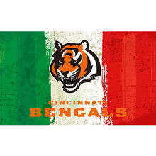 Green White Red Cincinnati Bengals Flag Super Bowl Champions Football Team Fan 3ft X 5ft Banner 100D Polyester(China)