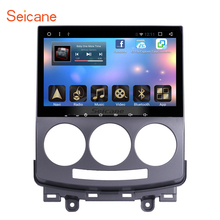 Seicane Android 6.0 GPS Navigation Radio Bluetooth 2005-2010 Old Mazda 5 HD support 4G WIFI Rearview Camera Mirror Link