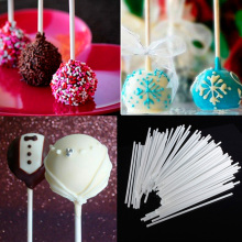 10cm Food-Grade Solid Paper Lollipop Stick Cake Pop Sticks For Chocolate Sugar Candy Color Lollypop Paste Tool