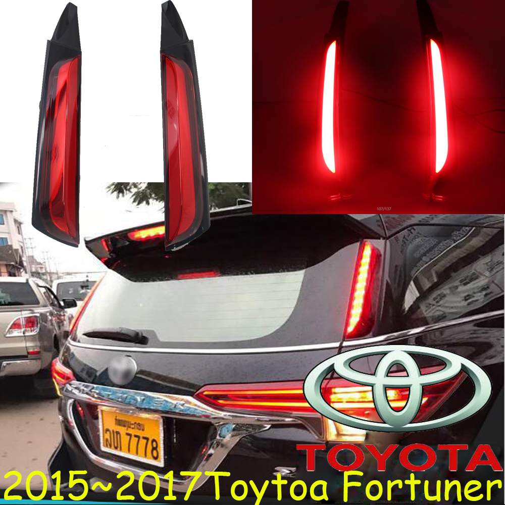 car-styling,Fortuner taillight,2015 2016;Free ship!LED,Fortuner rear light;chrome,Fortuner fog light,Venza,yaris,camry,corolla<br>