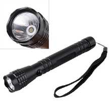 Mini Penlight LED 2 AA 3W Bright Camping Flashlight Torch Light Lamp Hand Strap #9405