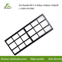 1 X HEPA Filter for Eureka HF-7 (HF-7) Series Uprights; Compare To Part # 61850, 61850A, 61850B Vacuum Cleaner Accessory