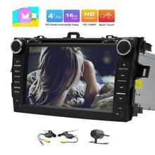 Android 6.0 Car Stereo Capacitive screen Car gps DVD Player for Toyata Corolla GPS Navigation AM FM Radio Receiver WiFi+Camera