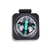 Useful Adjustable Car Compass Car Guide Ball Compass Ball Compass Magnetic Sphere Car Compass For Travel Outdoor Survival(China)