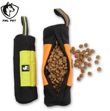 Practical Nylon Portable Dog Food Bag Carrying Snacks Training Suit All Kinds Of Dogs Golden Retriever Satsuma(China)