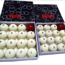 Balls Russian-Billiards Pool-Game 60mm Resin for Original Taiwan High-Quality 1pc Single