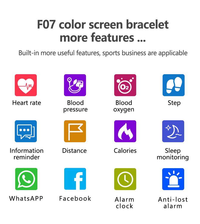 MOCRUX 2018 Smart Bracelet Wristband       - Smartband Sport Watch ios android IOS (18)