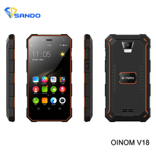 NEWS phone Oinom V18H S10 mobile phoneAndroid 5.1 MTK6752 Quad Core 1.3Ghz 4.5 Inch Ip68 2GB 32GB ROM 4G Fdd_Lte 5000MAH(China)