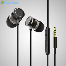 100% Original GutsyMan 3.5mm In-Ear phone Earphone bass Headset For Xiaomi IPhone 5 5S 4 Samsung MP3 MP4 Free Shipping(China)