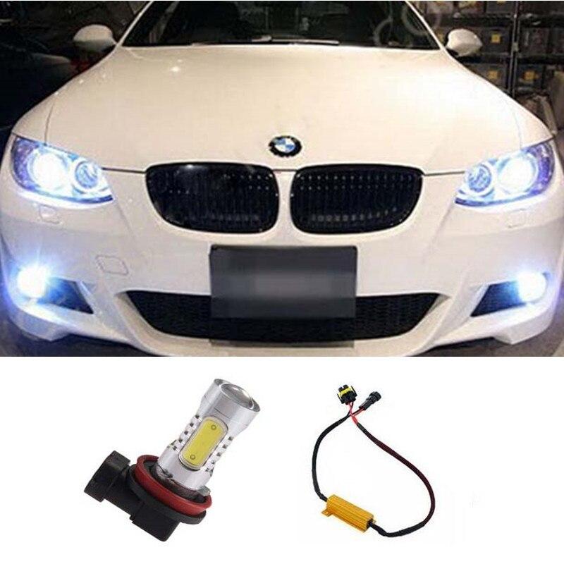 1pcs Car Led COB 7.5W No Error Auto Fog Light Driving Lamp For BMW 3/5-Series 328i 335i E39 525 530 535 540 E60 E61 F10 X3 F25<br><br>Aliexpress