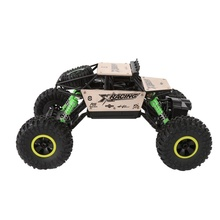 Electric Fast Race Car RC Cars Off-Road Rock Vehicle High Speed 1:18 Radio Remote Control Racing Cars(China)