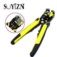 SUYIZN 1PC Wire Striper Cable Stripping Professional Multi-Automatic Crimper Cutter Stripper with Grips Plier Terminal Hand Tool