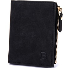 BABORRY Hot Selling ! Zipper PU Leather Wallets Male Clutch Coin Purses Card Holder Men Wallet Cuzdan Small Wallet Bag
