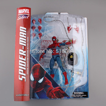 "Select The Amazing Spider-Man Special Collector Edition Action Figure Toy 7"" 18cm(China)"