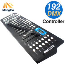 Free shipping NEW 192 DMX Controller Stage Lighting DJ equipment DMX Console for LED Par Moving Head Spotlights DJ Controller(China)