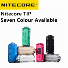 Nitecore TIP Flashlight Torch Smallest USB rechargeable highly portable keychain light 500mAh li-ion battery built-in