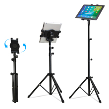 Universal Multi-direction Floor Stand Tablet Tripod Mount Holder For 7-10 Inch for iPad 234 Mini 123 Air 2 Samsung Lenovo(China)