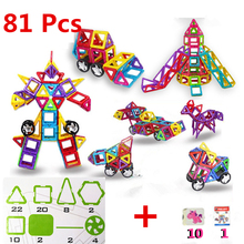Magnetic Building Block Brick Toy 3D Magnetic Toy For Kids Baby Christmas Gifts Family and School Educational Toys