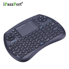 Bluetooth Mini Wireless QWERTY keyboard Air Mouse English Version handheld TouchPad remote for for PC Laptop iPad Android TV Box