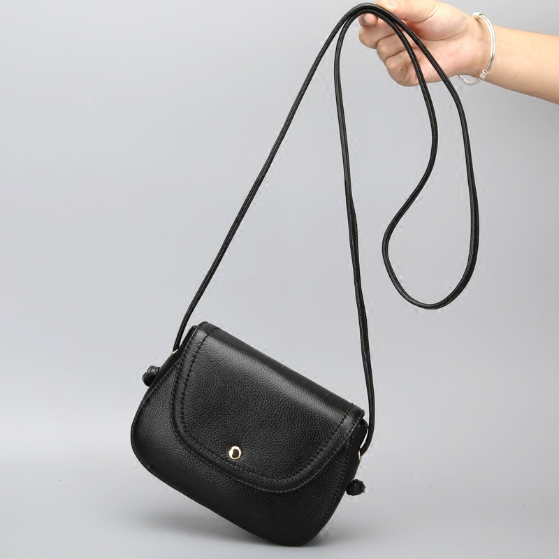 New arrival small flap bag High Quality crossbody bag 100% Genuine Leather Shoulder Bag first Layer Cowhide Women Messenger Bag<br>