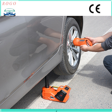 free shipping high quality multifunctions electric car lifting jack with electric wrench for unscrew the bolts(China)