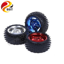 Original DOIT 4pcs 2wd/4wd Car Wheel with Diameter 85mm width 38mm Tire Tyre Wheel Robot DIY RC Toy Remote Control Robotic Kit