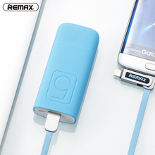 CNPOWER Original Remax RPL-25 5000mAh Single USB Mini Portable Powerbank Poverbank Backup Battery Charger For xiaomi mi5s LJJ609