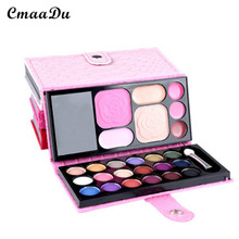 CMAADU Multicolor Eyelash Cosmetic Pans Portable 18 Colors Earthy Mild And Does Not Irritate Matt Eye Shadow(China)