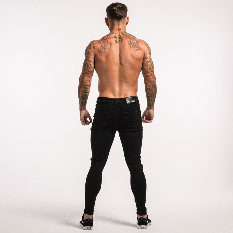 -mens-skinny-jeans-black-ripped-stretch-ripped-repaired-zm25-14