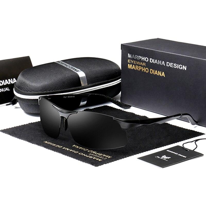 Morpho Diana Men Polarized Sunglasses Brand Driving Sunglass Aviation Oculos De Sol Masculino Sun Glasses<br><br>Aliexpress